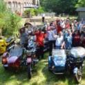 Tigerenten-Run: Motorradgespanne trafen sich zum gemeinsamen Ausflug