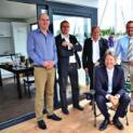 Das erste schwimmende Musterhaus liegt im Hafen Xanten