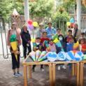 Schultüten für 22 Schulanfänger aus vier außereuropäische Nationen