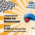 Auf die Bobby-Cars – fertig – los!