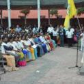 Bischof Justin Gnanapragasam aus Sri Lanke feiert Gottesdienst
